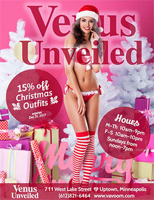 15 percent off Christmas Lingerie
