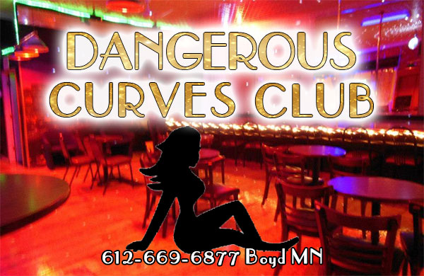 Dangerous Curves Club is an all nude strip club in Boyd Minnesota featuring dance gear by Venus Unveiled